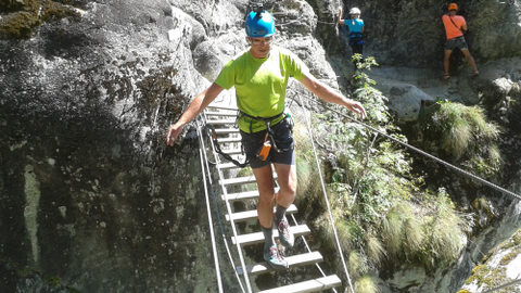 Klettersteig Chateau Queyras : Kanu bike klettern wandern meschede hochsauerland